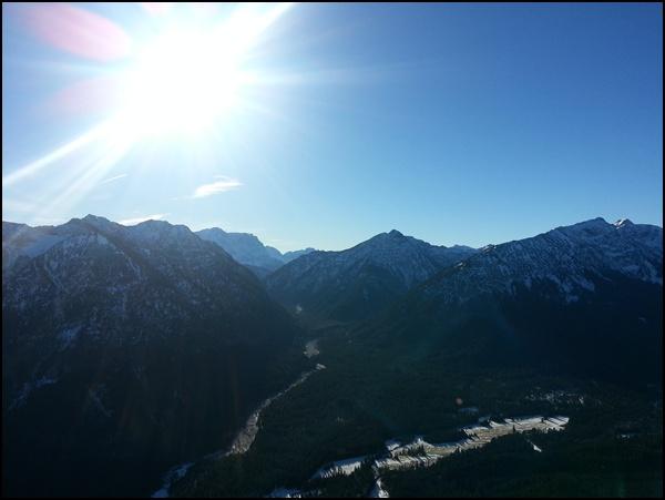 Ammergauer Alpen und Zugspitze