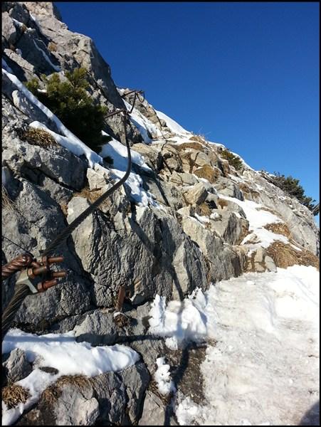 Gipfelweg Teufelstättkopf