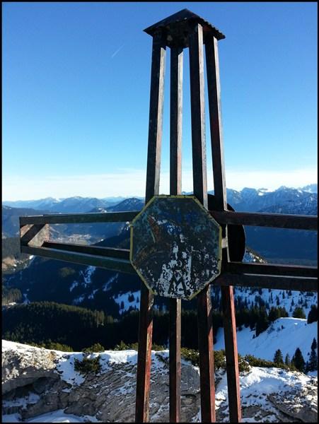 Gipfelkreuz Teufelstättkopf