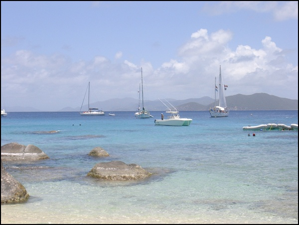 Segeln in den British Virgin Islands