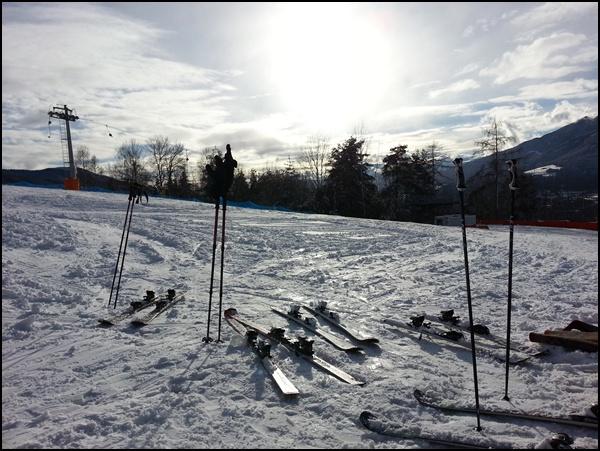 Plose im Eisacktal/ Südtirol: Projekt Pistenglück Skitag 4/2014