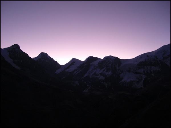 sonnenaufang_thorung la nepal
