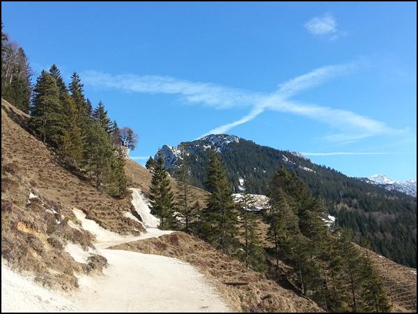wandern im Zahmen Kaiser Gebirge
