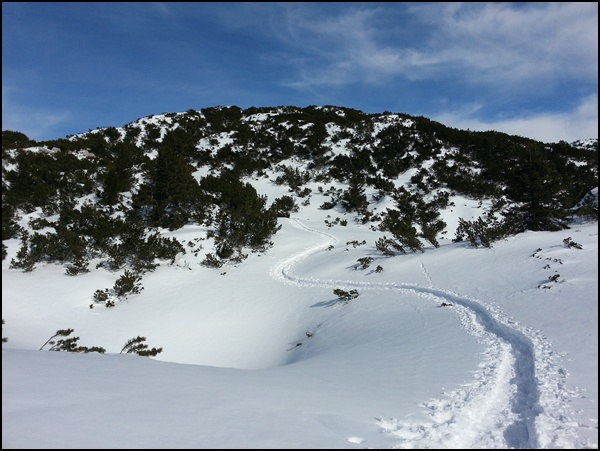 Zahmer Kaiser im Schnee