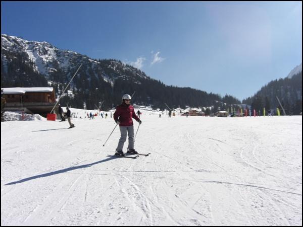 Skifahren in Ehrwald