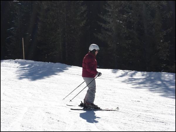 So geht das mit dem Skifahren