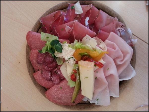 Südtiroler Küche auf der Gitschhütte