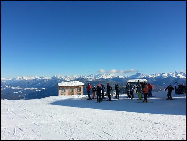Skifahren lernen im Eisacktal in Südtirol