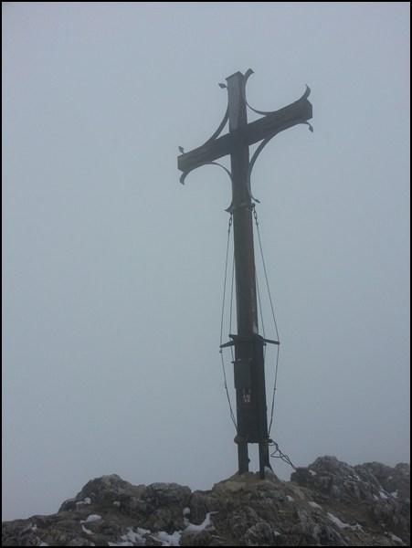 Geigelstein_Gipfelkreuz