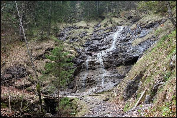 Wasserfall am Bayrischzeller Höhenweg