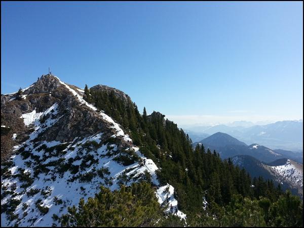 Gipfelgrat zum Wildalpjoch