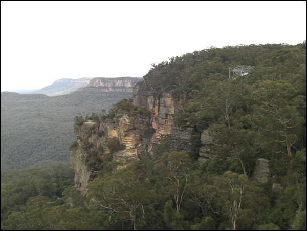 wandern in den Blue Mountains
