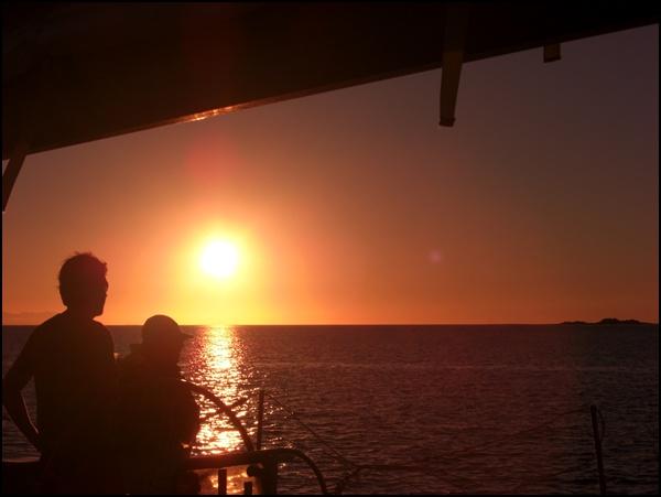 Sonnenuntergang Australien