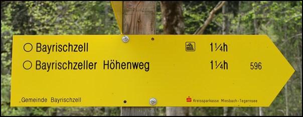 Regenwetter-Tour: der Bayrischzeller Höhenweg