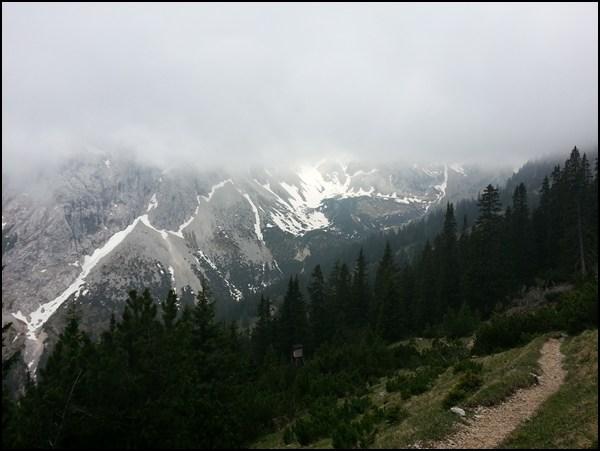 Abstieg von der Großen Schlicke Tirol