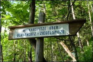 zur Notkarspitze in den Ammergauer Alpen