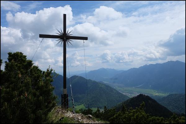 Gipfelkreuz Ziegelspitz