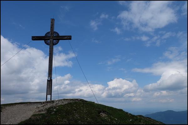 Gipfelkreuz Notkarspitze Ammergauer Alpen