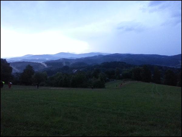 Sonnenuntergang im Bayrischen Wald