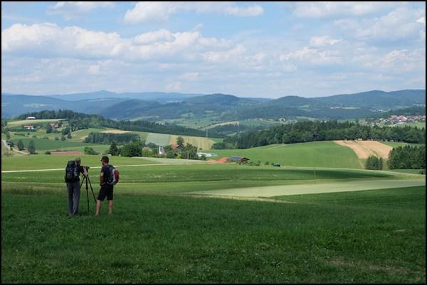 Dreiburgenland in Bayern