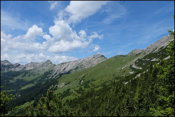 Grate in den Ammergauer Alpen