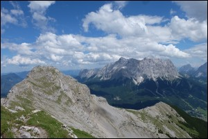 Daniel und Zugspitze