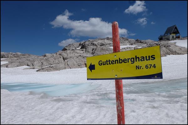 Bergtour am Dachstein: vom Hunerkogel zum Guttenberghaus
