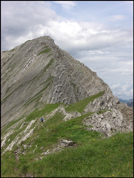 Gipfelanstieg Gartnerwand