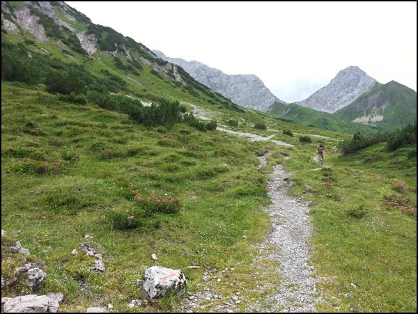 zur Anhalter Hütte in den Lechtaler Alpen