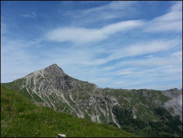 Namloser Wetterspitze in den Lechtaler Alpen