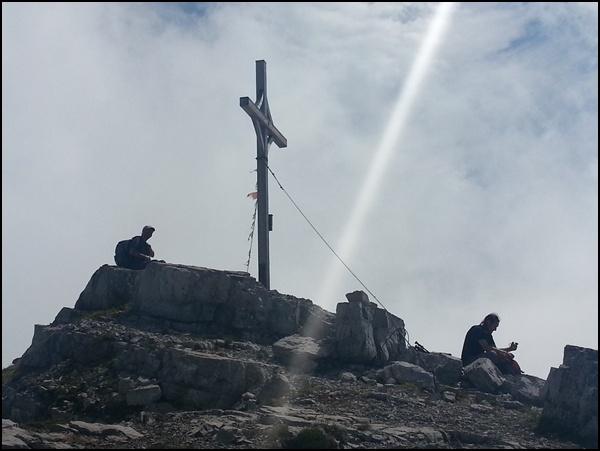 Gipfel Namloser Wetterspitze