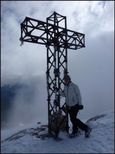 Gipfelglück auf der Marmolata