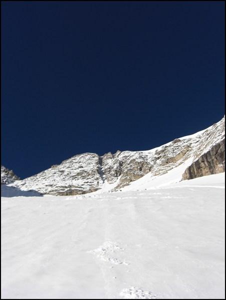 Marmolata Gletscher