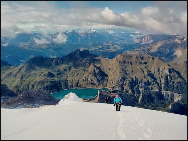 Endspurt zum Gipfel! Foto: Felix/ http://www.hikr.org/tour/post84657.html