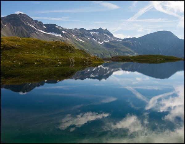 Wasser ist ein bestimmendes Element auf der Alpenüberquerung Salzburg-Triest.