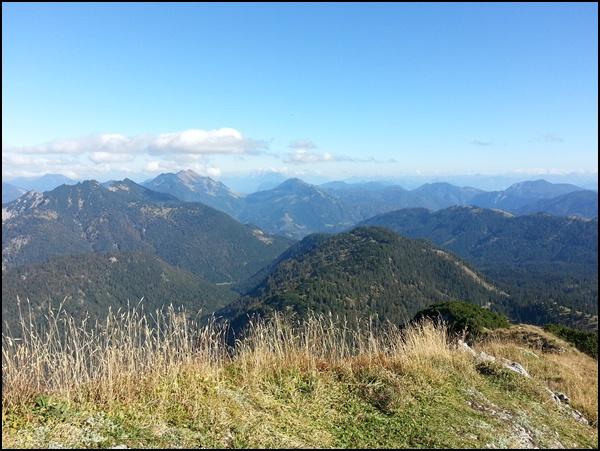 Auf dem Gipfel der Halserspitz, im Herbst ist die Fernsicht einfach am besten!