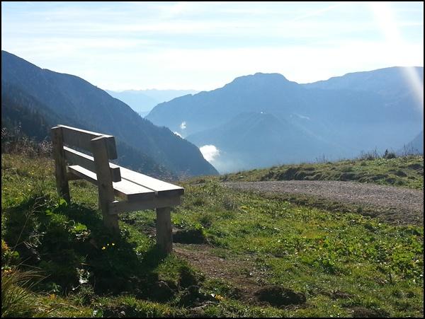 Am Schleimssattel - Inbegriff von Ruhe in den Bergen
