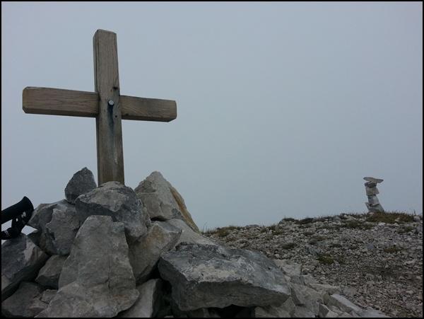 Gipfelkreuz am Säuling