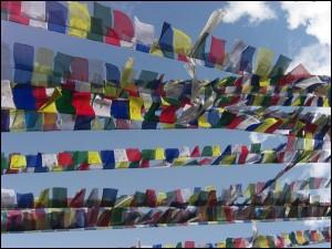 nepal gebetsfahnen