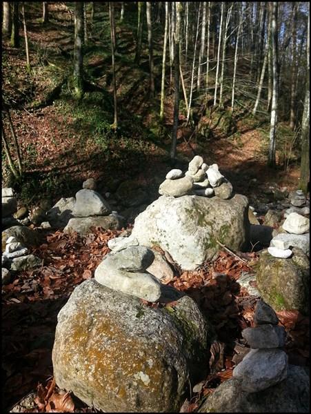 Steinmännchen am Hochfelln