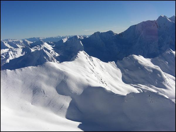 Noch mal der Blick vom Top Mountain Star
