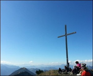 Gipfelkreuz Halserspitz