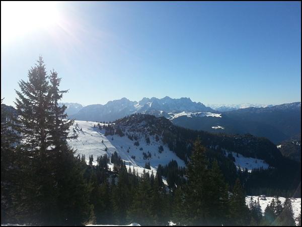 Schneeschuhtour Sonntagshorn