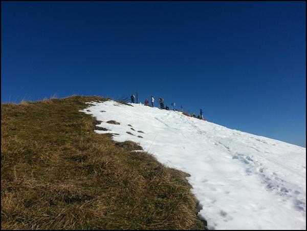 Gipfel des Sonntagshorns