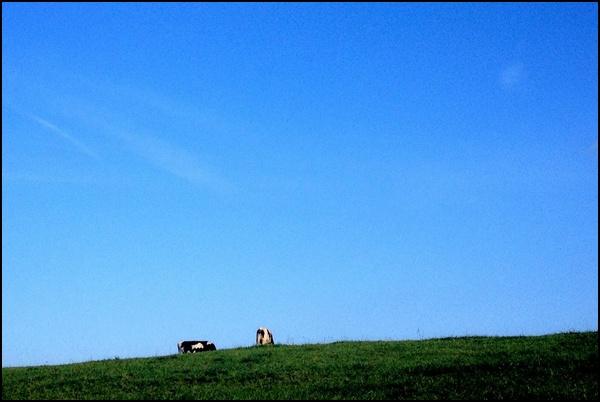 Himmel über der Eifel