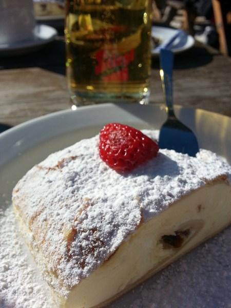 Kuchen auf der Ehrwalder Alm