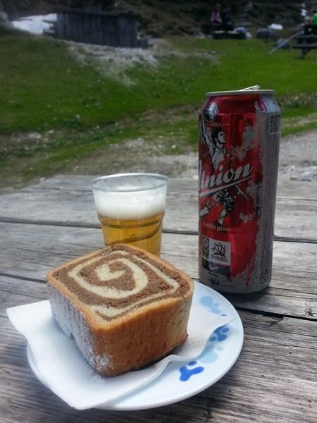 Kuchen in den Julischen Alpen