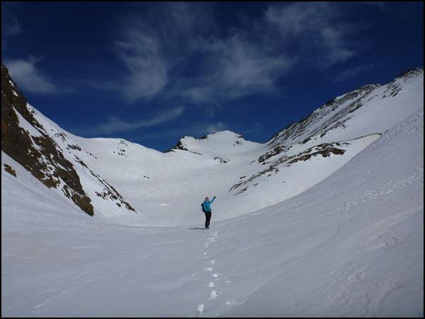 Einsames Wandern in Andorra