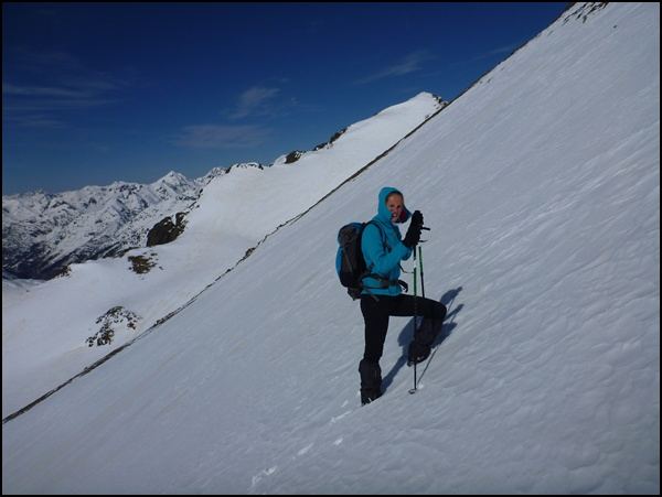 Andorra Comapedrosa im Winter