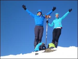 Comapedrosa - auf dem höchsten Gipfel in Andorra